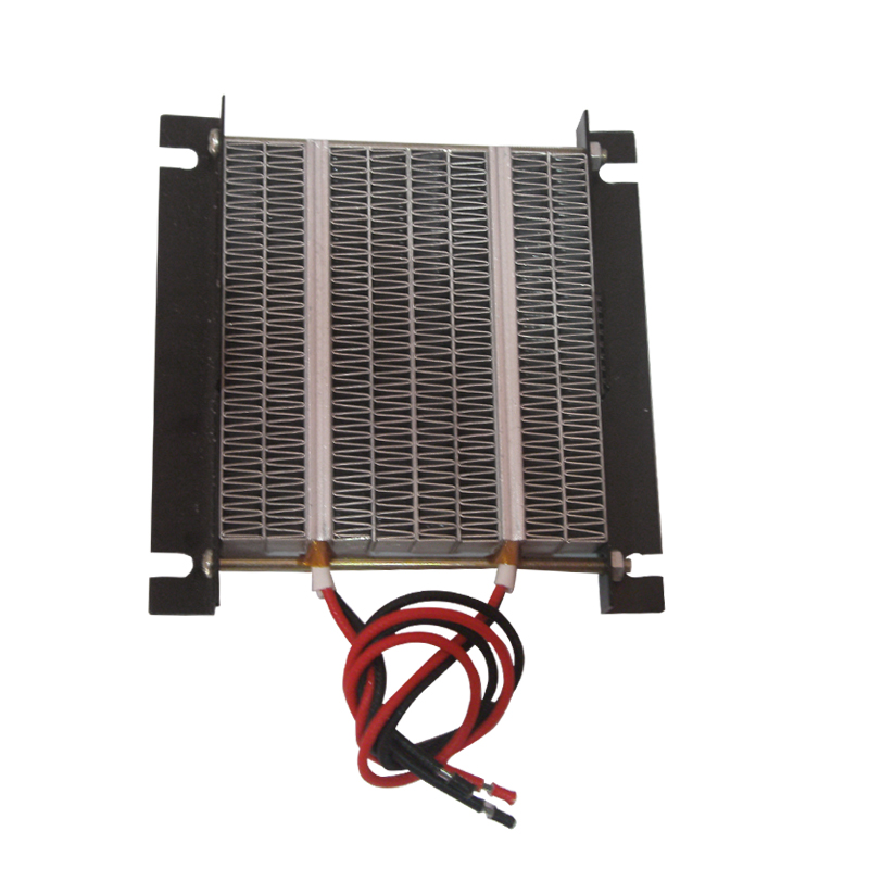 1PC 12V 150W / 12V 300W / 24V 250W / 24V 500W PTC Heating Element Heater Plate with Black Metal Hoder Heat Conduction