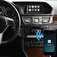 كاربلاي أندرويد محول السيارات لمرسيدس NTG راديو C الفئة W204 E الفئة W212 GLK X204 CLS W218 الذكية لينك شاشة مرآة آيفون