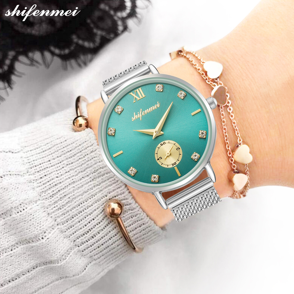 Shifenmei Women Watches Quartz Luxury Brand Business Watch Casual Quartz Watches Lady Lover Wristwatches Clock Relogio Feminino