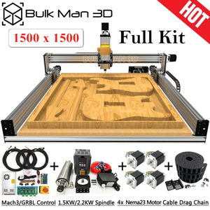 Image 1 - 1515 Lead CNC Full Kit 1500x1500mm 4 Axis DIY CNC Carving Machine Complete Kit CNC Milling Engraver