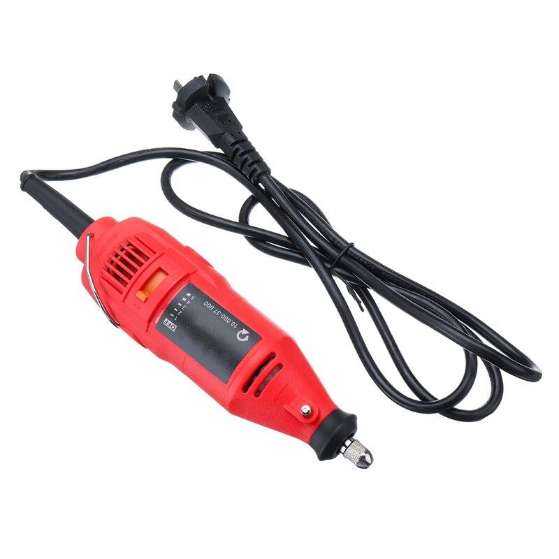 180W 5 Geschwindigkeit 37000rpm Strom Grinder Schärfen Mini Handheld Maschine Kette Elektrische Säge Schleifen Schärfen Maschine Power Tool set