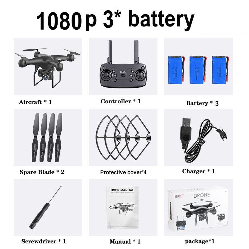 2020 NEW RC Drone HD 4k WiFi 1080p 5G WIFI fpv drone flight 25 minutes control distance 150m quadcopter drone with camera