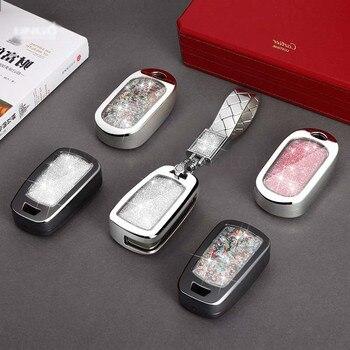 Car Key Cover Diamond Case For buick For Opel VAUXHALL Astra Corsa ADAM Antara Meriva Zafira Insignia Car Styling Shell Set