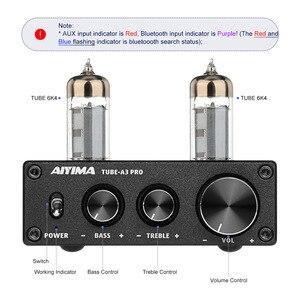 Image 2 - AIYIMA 6K4 Tubo A Vuoto Amplificatore Preamplificatore Bluetooth 5.0 Bile Pre AMP Tubo A Vuoto Preamplificatore Con Alti Bassi Regolazione del Tono