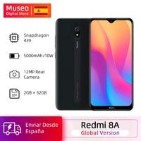 "Global Version Xiaomi Redmi 8A 8 A 2GB 32GB 6.22"" Snapdargon 439 Octa core Mobile Phone 5000mAh 12MP Camera Smartphone"