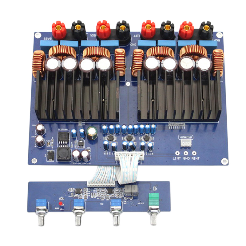 Tas5630 2.1 High Power Digital Power Amplifiers Board Hifi Class D Audio Opa1632 600W + 2 x 300W Dc48V