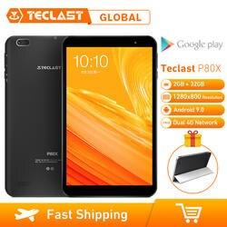 Teclast P80X 8 дюймов 4G планшет Android 9,0 SC9863A IMG GX6250 Восьмиядерный 1,6 ГГц 2 Гб ОЗУ 16 Гб ПЗУ планшет с двойной камерой