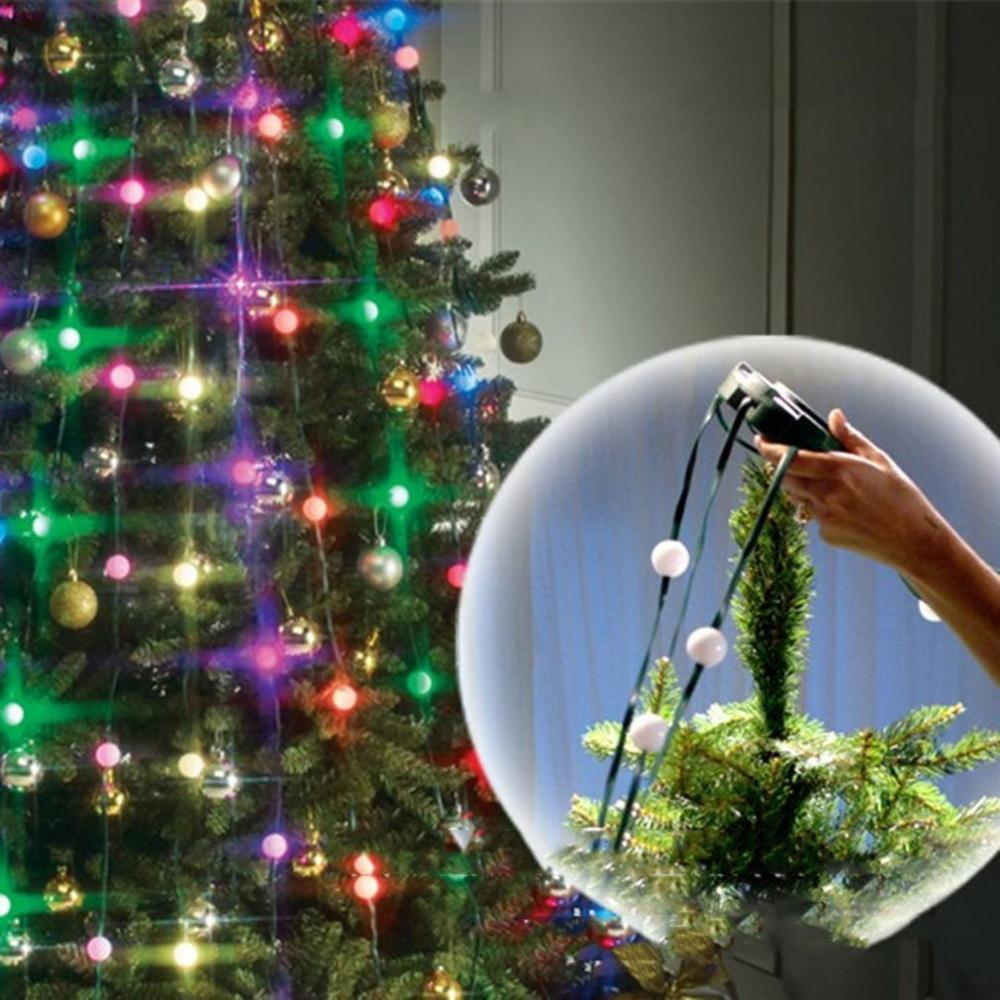 LED String Light Tree Dazzler Lamp Low Power Consumption Outdoor Wedding Party Christmas Tree Decor Festoon String Light