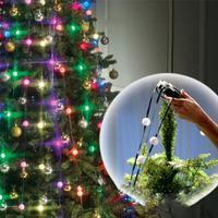 LED String Light Tree Dazzler lamp Low Power Consumption Outdoor Wedding Party Christmas Tree Decor Festoon String Light