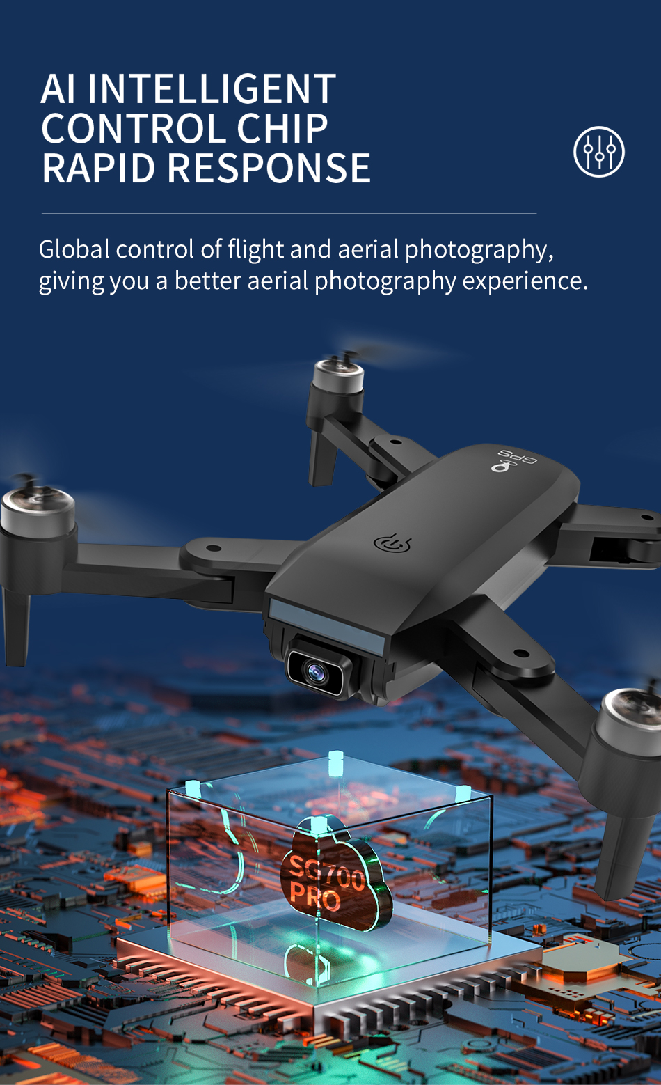 H58fab301e1f547afb778f7bb1c8ac6d8q - ZLL SG700 MAX Drone GPS 5G WiFi Dual Camera Brushless Motor Flight RC Distance 800m SG700 Pro Foldable Professional Quadcopter