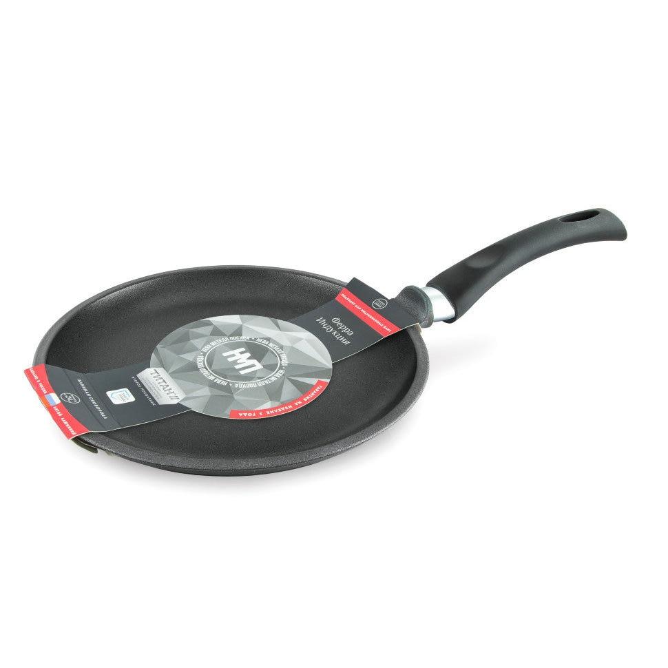 купить Frying Pan griddle Нева metal tableware, Ферра induction, 24 cm недорого