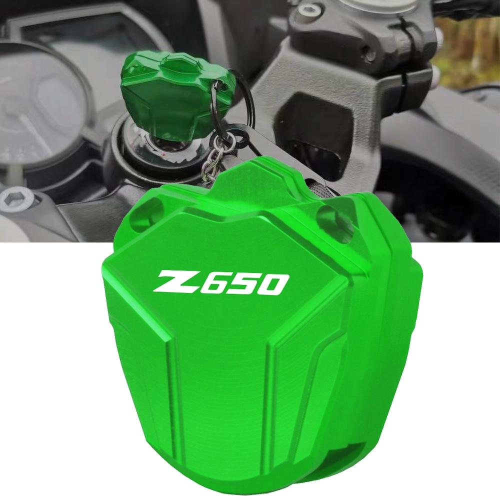Für Kawasaki Z400 Z650 Z900 NINJA 400 650 VERSYS 650 1000 LT Vulcan S ABS Motorrad CNC Aluminium Schlüssel Fall abdeckung Shell Schutz