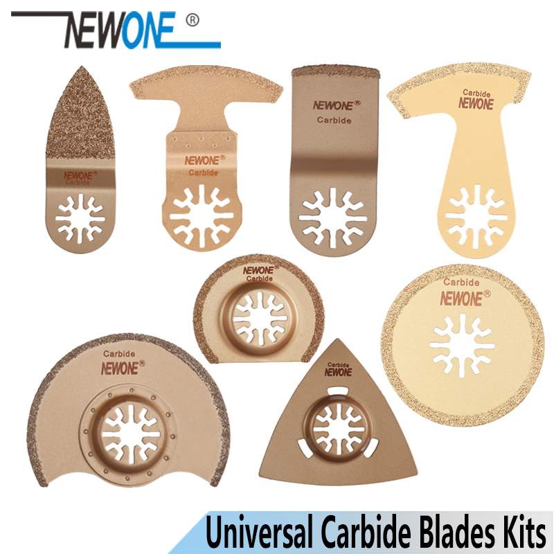 NEWONE Carbide Oscillating Tool Saw Blades Multi-tool Trimmer Saw Renovator Saw Blade For AEG,Fein For Tile Concrete Grinding