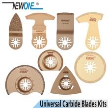 Newone Carbide Oscillerende Tool Zaagbladen Multi Tool Trimmer Zag Vernieuwer Zaagblad Voor Aeg, fein Voor Tegel Beton Slijpen