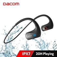 Dacom auriculares inalámbricos deportivos para correr, por Bluetooth, IPX7, impermeables, auriculares con graves HiFi, con cancelación de ruido y micrófono