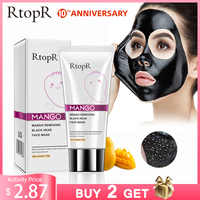 Mango Blackhead Remover Acne Treatment Nose Oil-control Mud Pore Strip Mask Whitening Cream Peel off Mask Nose Peel Skin Care