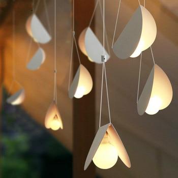 Modern Simple Creative Personality Hanging Lamp Restaurant Bar Bedroom Cafe Pendant Lamp Dining Room Art Home Pendant Light