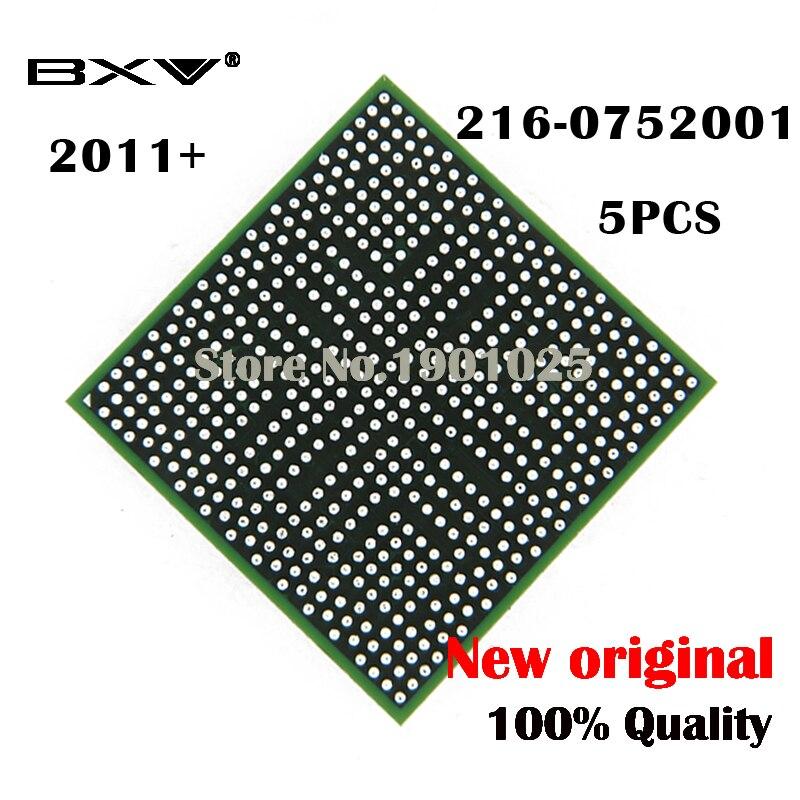 Чип BGA для ноутбука, DC 2011 + 5 шт., 216-0752001, 216, 0752001, чип для ноутбука, 100% новый, оригинальный