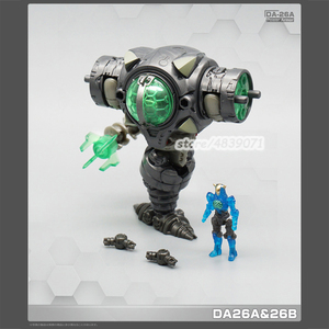 Image 3 - MFT Transformation planète perdue puissance costume DA23 DA24 DA26AB 4in1 diacalone figurine Robot jouets