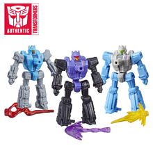 3pcs 5cm Transformers Toys Generations War for Cybertron Tri