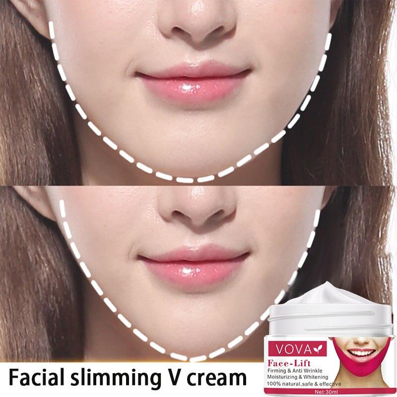 Вовы уход за кожей для похудения крем для лица с лифтинг 3D укрепляющей Подтягивающий крем для ухода за кожей v-линия по уход за лицом увлажнение
