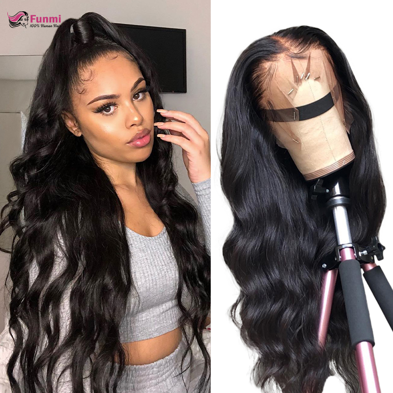 Body Wave Lace Front Human Hair Wigs 360 Lace Frontal Wig With Baby Hair Remy Hair Lace Wigs Brazilian Body Wave Human Hair Wigs