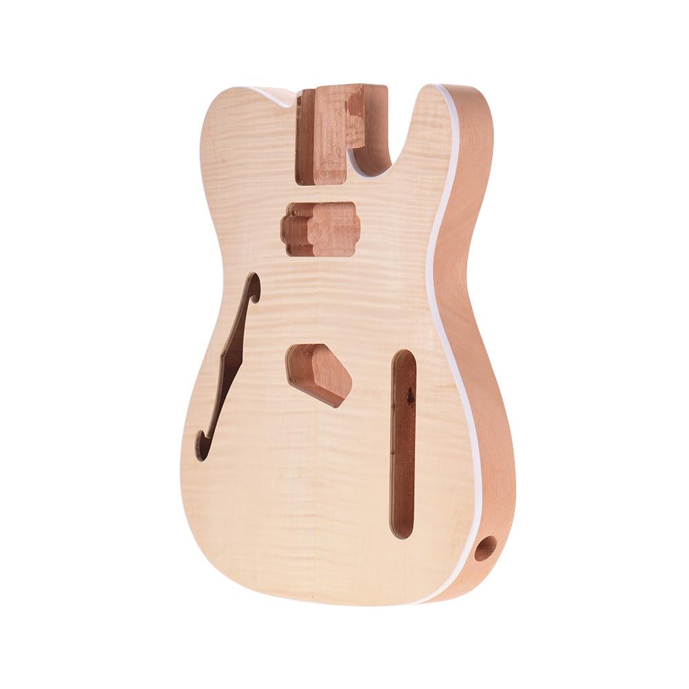 Inacabado corpo de guitarra mogno madeira em branco tambor para tele estilo guitarra elétrica peças diy guitarras acessórios