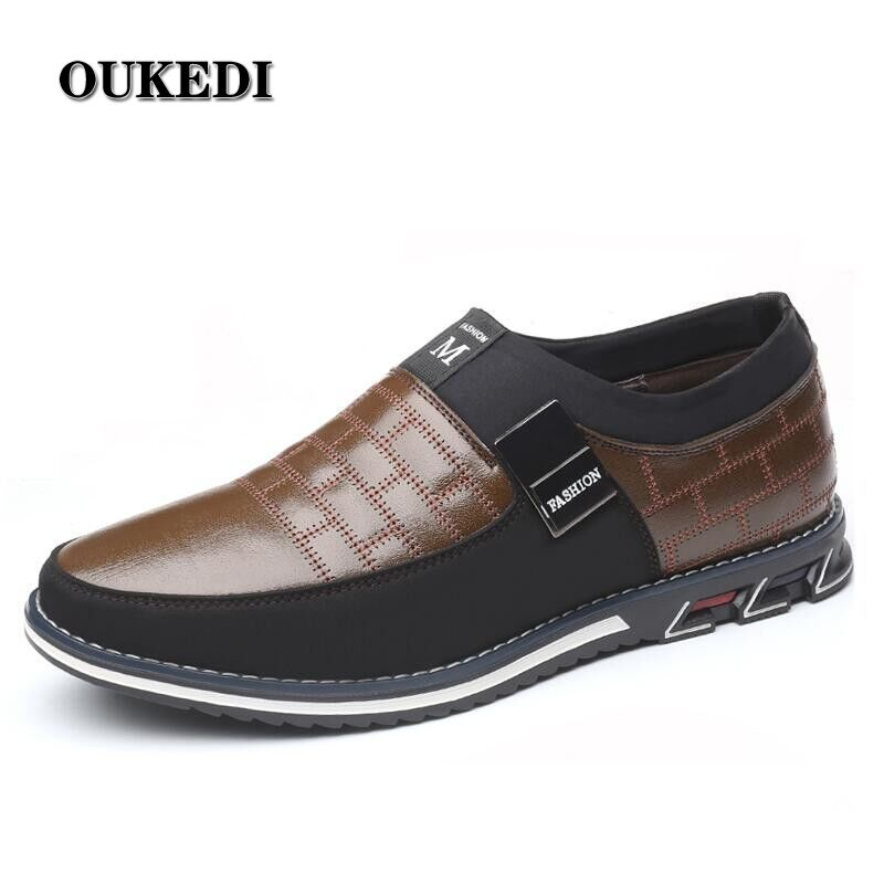 US $37.63 |2019 New Big Size 38 48 Oxfords Leather Men Shoes Fashion Casual Slip On Formal Business Wedding Dress Shoes Drop Shipping on AliExpress