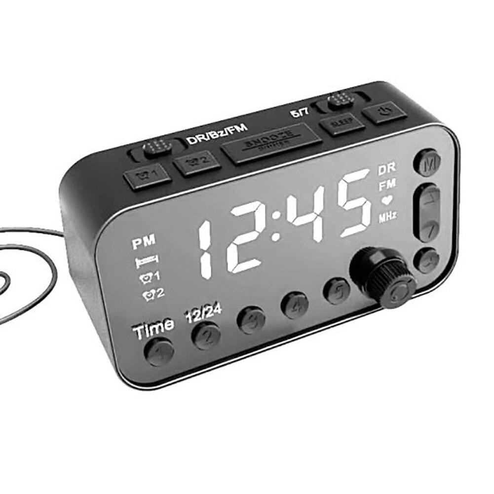 Digital Dab Fm Alarm Clock Radio Dual