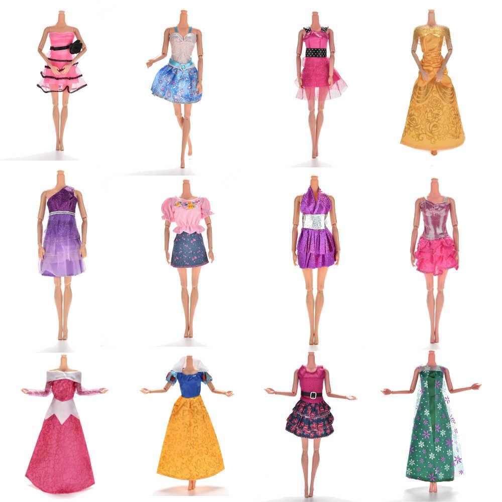 1 PC Multi Gaya Buatan Tangan Rok Musim Panas Pakaian Pakaian Gelas Plastik Kalung Sepatu untuk Boneka Aksesoris Bayi Mainan Hadiah Terbaik