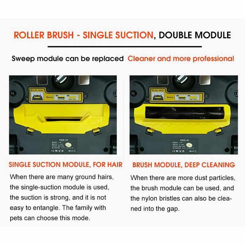 Пылесос 2 для дома умная чистка влажной уборки ковра пыли подметания Mi робот