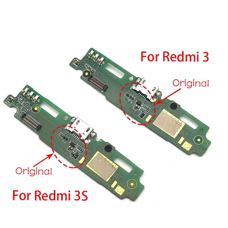 For Xiaomi Redmi 3 3S Redmi3 USB Dock Connector Charging Port Flex Cable Board Repair Parts