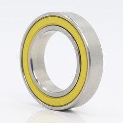 6802-2rs rolamento inoxidável 15*24*5mm (1 pc) ABEC-3 6802 rs cubo de bicicleta dianteiro cubos traseiros roda 15 24 5 rolamentos de esferas cerâmicas