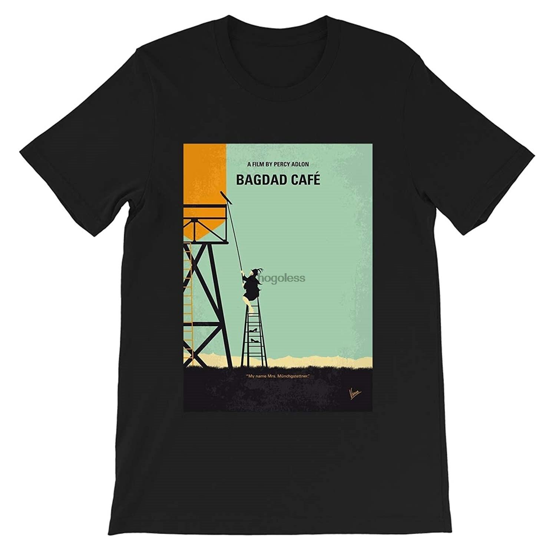Bagdad Cafe постер фильмы футболка # Перси адлон # Моника калхон # Филлис Марианна # сагебрехт подарок графическая футболка унисекс