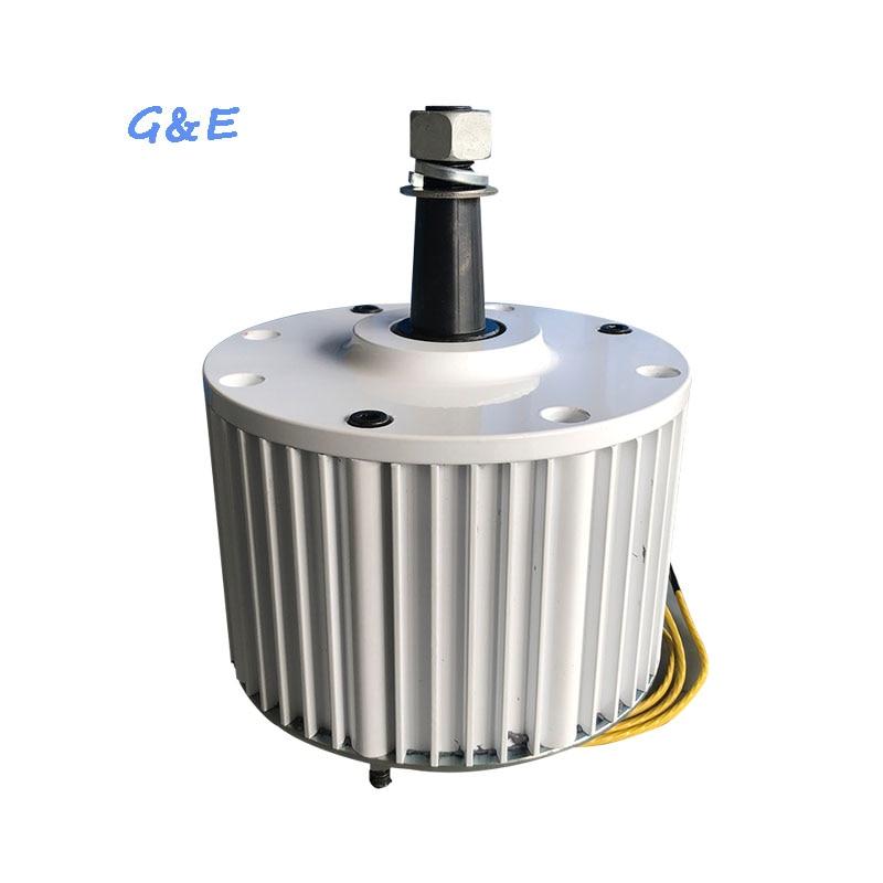 NdFeB PMG rare earth PMA 800W AC Permanent Magnet Generator For Wind Turbine
