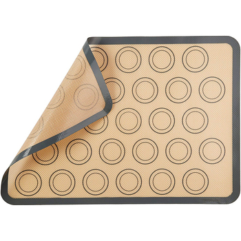 1 Pcs Premium Silicone Baking Mat In Non Stick Silicone Fiberglass For Easy And Convenient Baking
