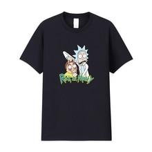 2019 Fashion summer t shirt men summer new Rick And Morty T-shirts 100% cotton high quality t-shirt Casual tshirt men 100% new and original e40s6 1000 3 t 24 e40s6 240 3 t 24 autonics incremental rotary encoder 12 24vdc
