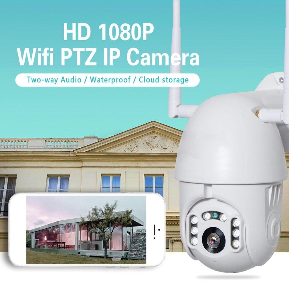 1080P HD WiFi IP Camera ONVIF Outdoor Waterproof PTZ Security Camera 2 Million Pixel HD IP Camera Motion Detection