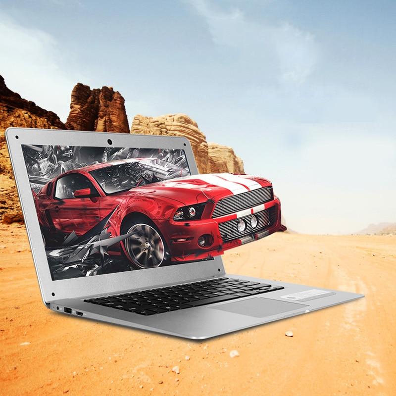14 Inch 1920x1080 Ultrabook With 4G RAM 64G EMMC For Intel Atom X5-Z8350 Windows10 System Laptop HDMI WIFI EU Plug