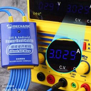 Image 5 - Linha de inicialização móvel do cabo de teste da fonte de alimentação do interruptor mecânico ios/android para o iphone 6/7/8/x/xs max/11/11pro samsung huawei oppo xiao