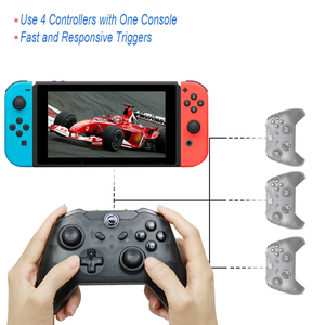 Image 5 - 2PCS TECTINTER Bluetooth Wireless Pro Controller For NS Gamepad Joypad Remote for Nintend Switch Pro Controller For mando Switch