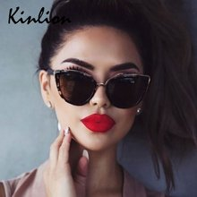 Женские винтажные солнцезащитные очки «кошачий глаз» в стиле