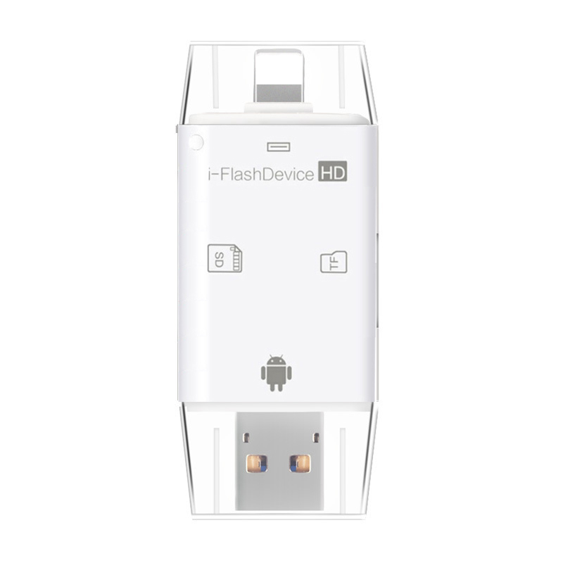 Micro USB OTG Card Reader Microsd TF SD Card para iPhone 11 Pro X XS MAX XR 5 6 7 8 PLUS para Samsung para Huawei Andrid OTG Phone