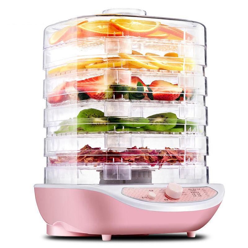 Бытовой мини-Дегидратор для пищевых продуктов, обезвоженное мясо домашних животных, 5 лотков, закуски, сушилка для воздуха, сушеные фрукты, о...