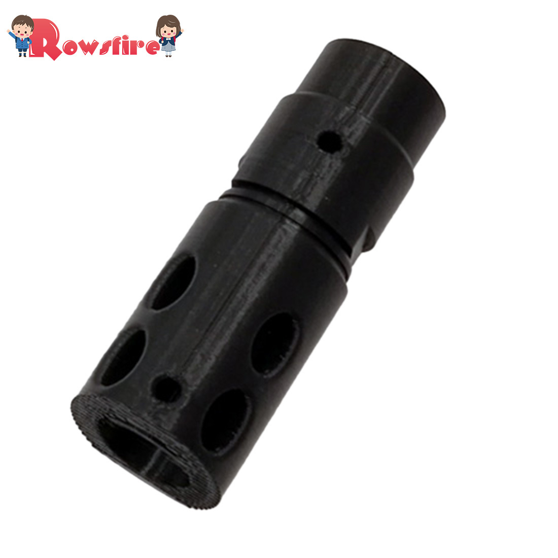 DK Adjustable Straight Hop Up For BF P90 Gen.3 Water Gel Beads Blaster - Black/Pink