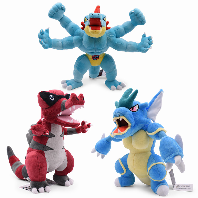 Anime Doll Pikachu Spinda Snorlax Gyarados Feraligatr Gible Machamp Lucario Cartoon Stuffed Peluche Plush Toy Christmas Gift