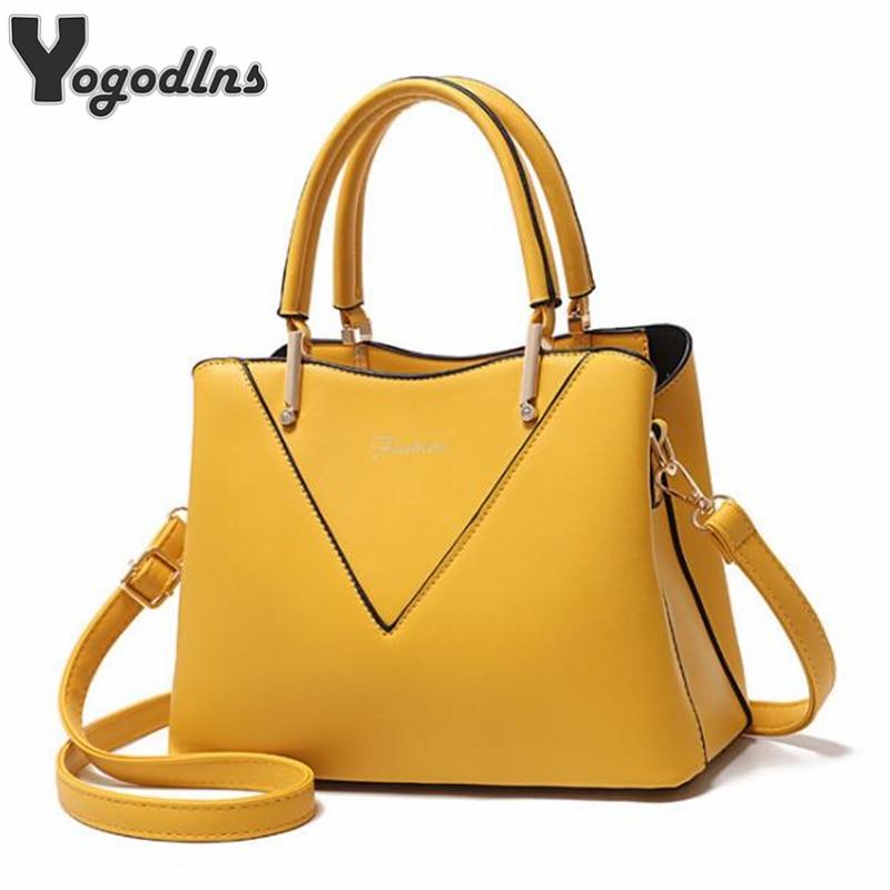 Elegant Casual Female Bag Solid Top