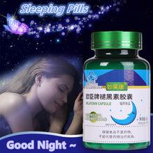 Comprimidos para dormir força melatonina ajudar a melhorar o sono noite ajuda dissolver rapidamente suplemento dietético promove relaxamento saúde