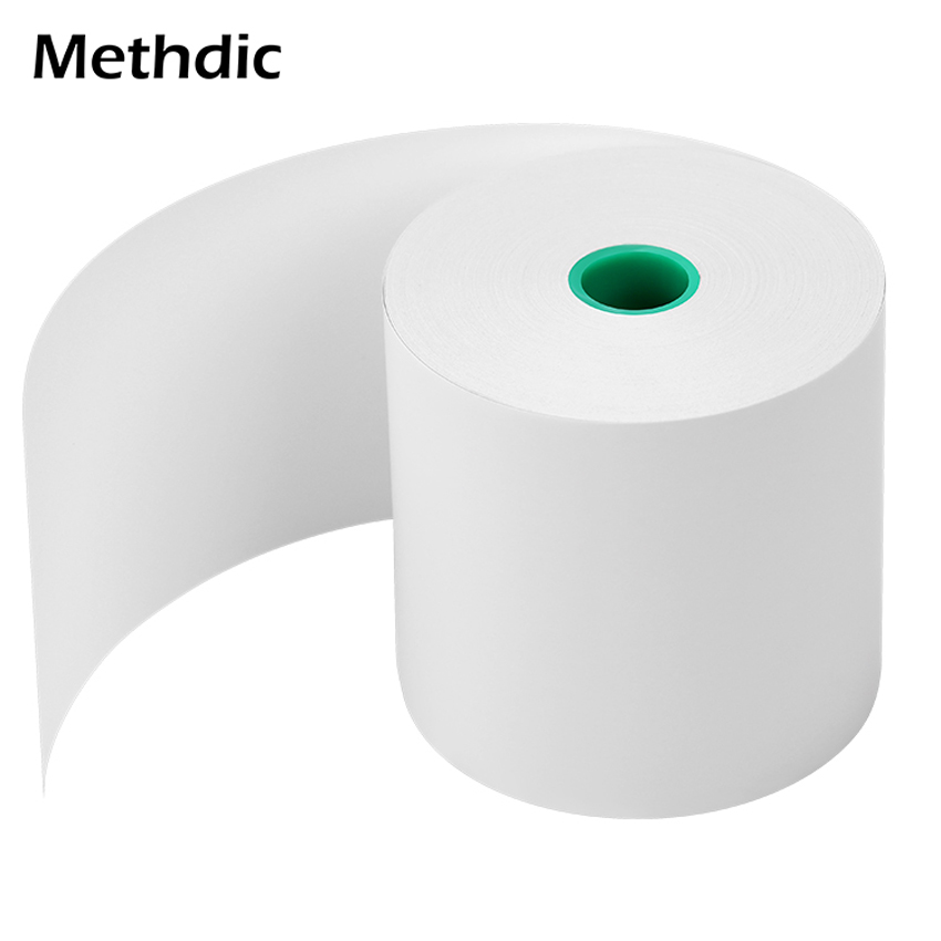 Methdic  80mm*80mm BPA Free Thermal Cash Register Printer  Paper Handheld Receipt Paper Roll
