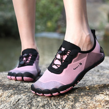 Upstream Shoes Aqua Barefoot Women Sneakers Mesh Outdoor Breathable Summer Unisex Gym